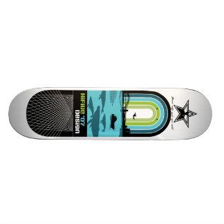 "'07 HiFive Design ""Cops vs. Ecology Series"" Skateboard"