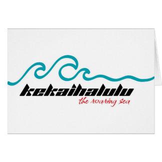 07_Kekaihalulu_GreetingCdH Greeting Card