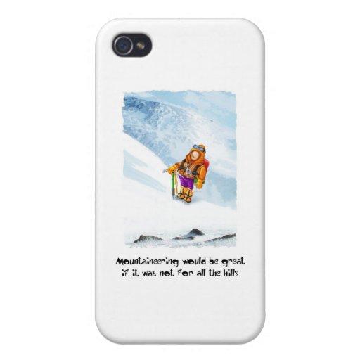 07. Montaña iPhone 4 Fundas