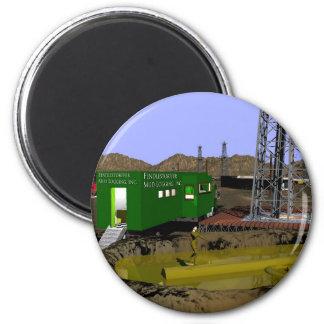 07 Mud Logging tlr copy 2 Inch Round Magnet