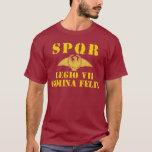 07 Vespasian 7th Lucky Gemini Roman Legion T-shirt