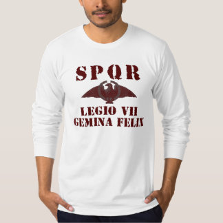 07 Vespasian's 7th Lucky Gemini Roman Legion Shirt
