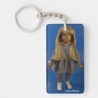 08006 Götz Laura Disney (Sasha) Rectangular Acrylic Keychains