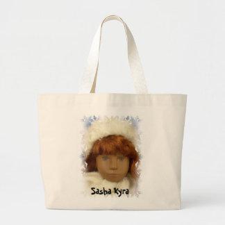 08028 Sasha Kyra Large Tote Bag