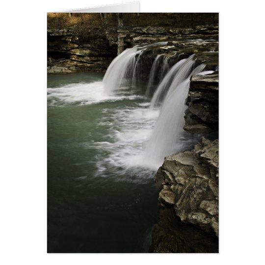0804-0013 Falling Water Falls 4 Card