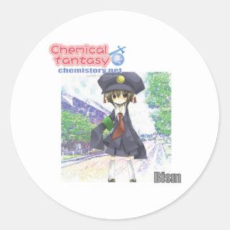 083 Bism of Chemical fantasy (Bismuth) Classic Round Sticker