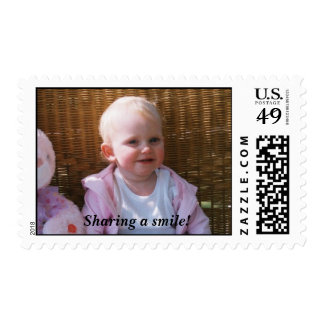 0882422-R1-044-20A.jpg, Sharing a smile! Stamp