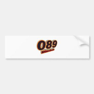 089 Muenchen Bumper Sticker