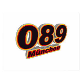089 Muenchen Postcard