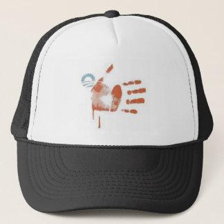 08) Blood Stripes: Flag Print - Hat