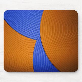 08 Mousepad azul y anaranjado Alfombrillas De Raton