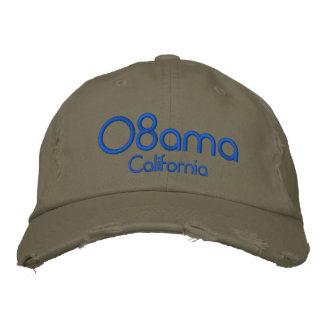 '08bama, California Embroidered Baseball Caps