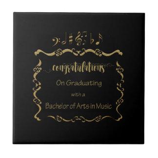 09066Bachelors of Arts in Music Graduating Tile