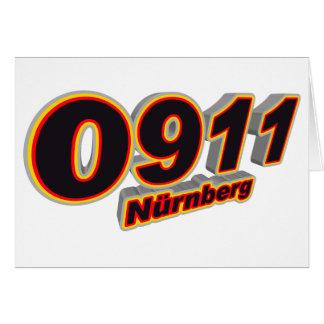 0911 Nuernberg Greeting Card