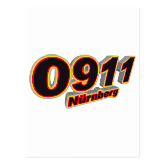 0911 Nuernberg Postcard