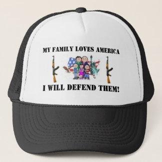 0920cb06e84afee2-1, AK47-1, AK47-1, MY FAMILY L... Trucker Hat