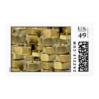092106-nuts BLING GOLD TOUGH GANGSTER MECHANICS RA Postage