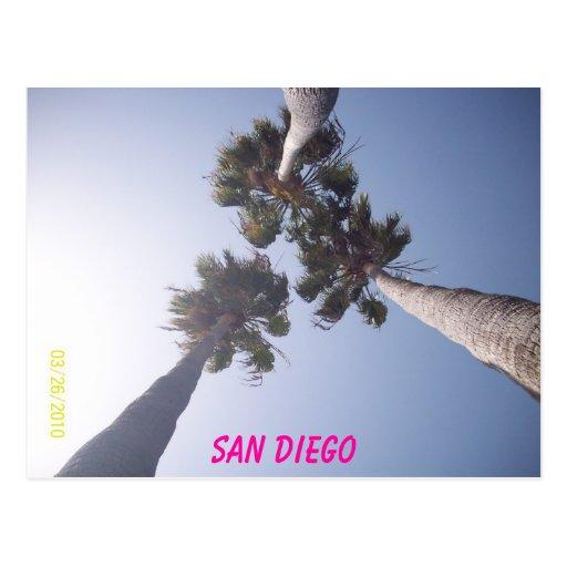 096, San Diego Post Cards