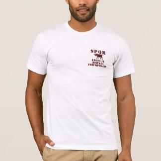 09 9th Spanish Triumphant Legion - Roman Bull T-Shirt