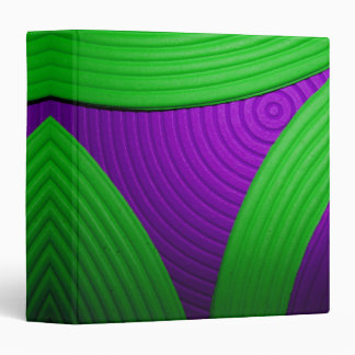 "09 Green & Purple 1.5"" Avery Binder"
