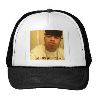 09, IM HIS # 1 FAN TRUCKER HAT