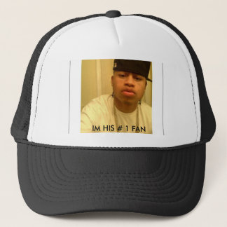 09, IM HIS # 1 FAN TRUCKER HAT