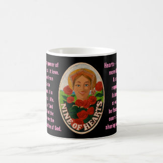 09. Nine of Hearts - Sailor tarot Coffee Mug