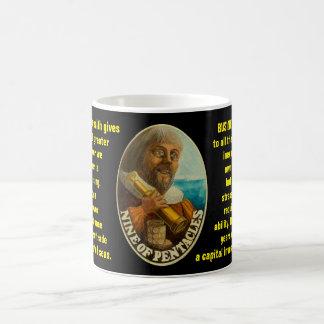09. Nine of Pentacles - Sailor tarot Coffee Mug
