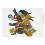 09.Quetzalcoatl - Mayan / Aztec Creator God Tarjeta De Felicitación