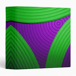 """09 verde y púrpura 1,5"""" carpeta de Avery"""