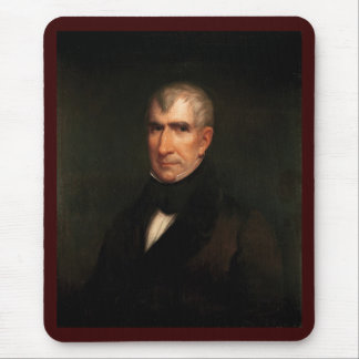 09 William Henry Harrison Mouse Pad