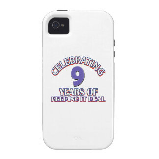 09 years of keeping it real iPhone 4/4S cover