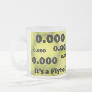 0.000 the perfect Flyball start Frosted Coffee Mug