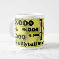 0.000, the perfect Flyball start! Jumbo Mug