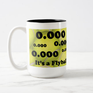 0.000, the perfect Flyball start! Two-tone Mug