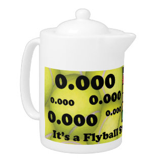 0.000, The perfect Start, It's A Start Dog Thing! Teapot