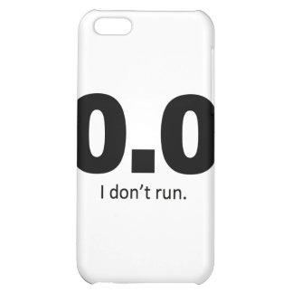 0,0 No corro