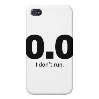 0,0 No corro iPhone 4/4S Funda