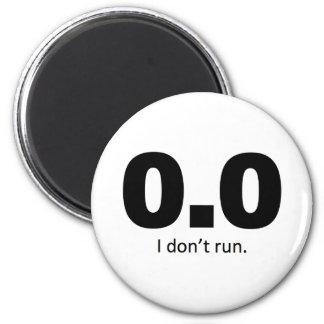 0,0 No corro Iman Para Frigorífico