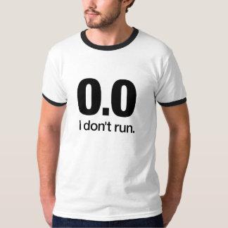 0,0 No corro la camiseta Remera