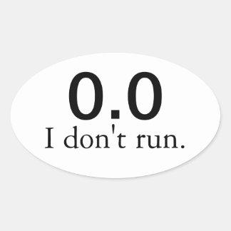 0 0 No corro pegatinas
