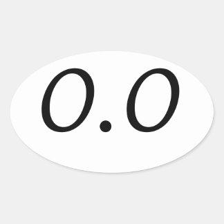 0,0 PEGATINAS ÓVALES