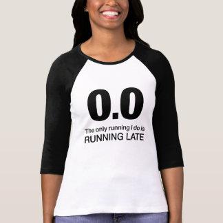0,0 Última camiseta de funcionamiento Playera