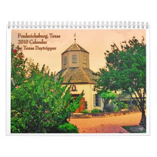 0-2010 Calendario-Fredericksburg, TX Calendarios De Pared