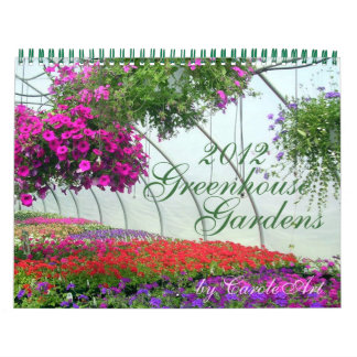 0 2012 Greenhouse Gardens Wall Calendar