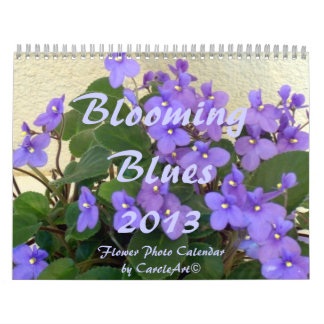 0 2013 Blooming Blues Calendar