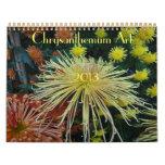 0 2013 Chrysanthemum Art Calendar