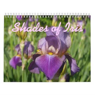0 2013 Shades of Iris Wall Calendars