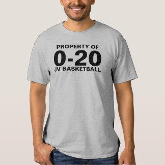 0-20 Basketball Tee Shirt