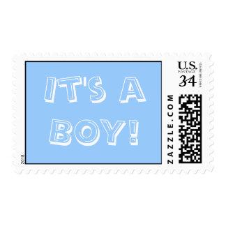 0 29 cent Baby Boy Stamp